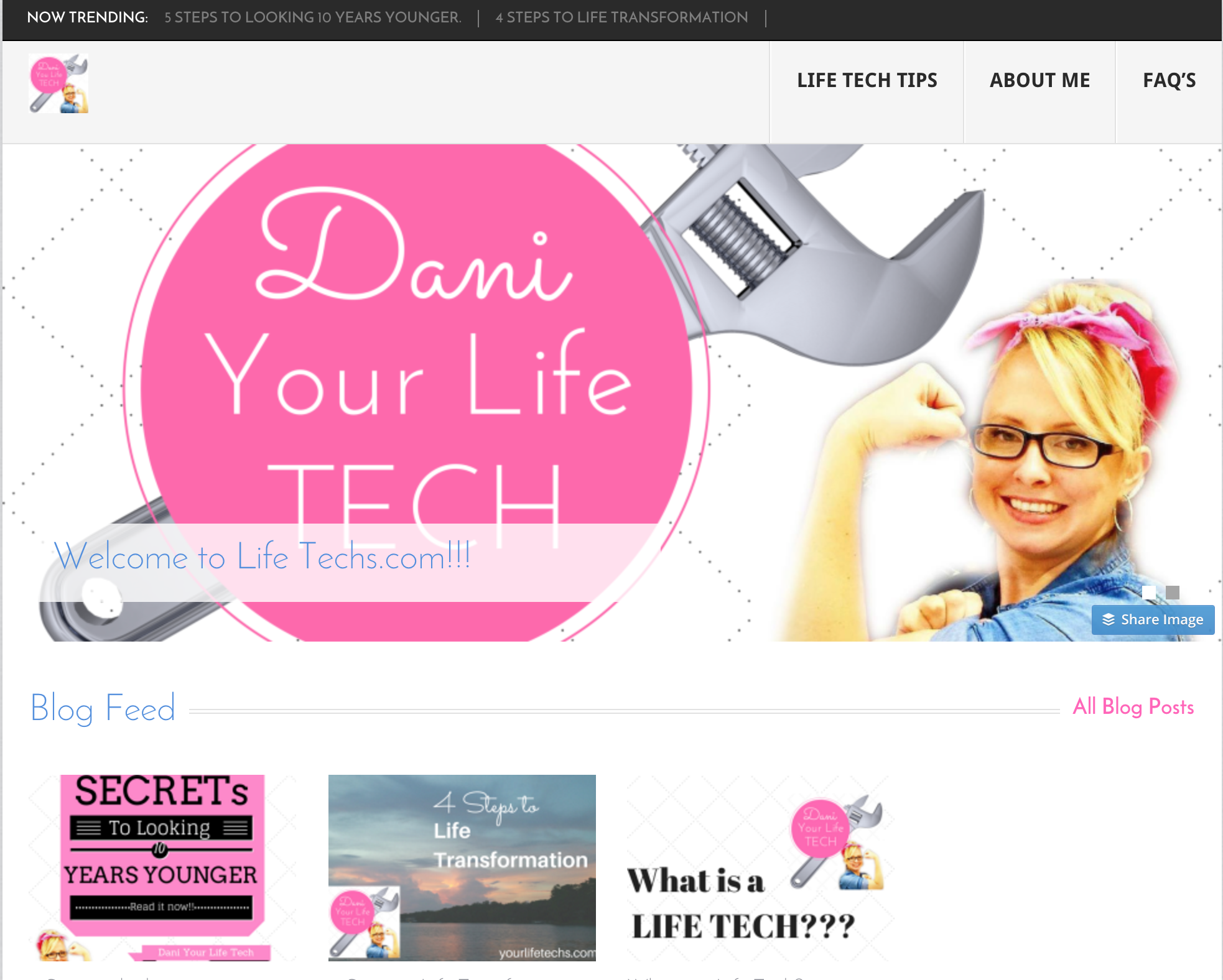 Your Life Techs – DIY Website
