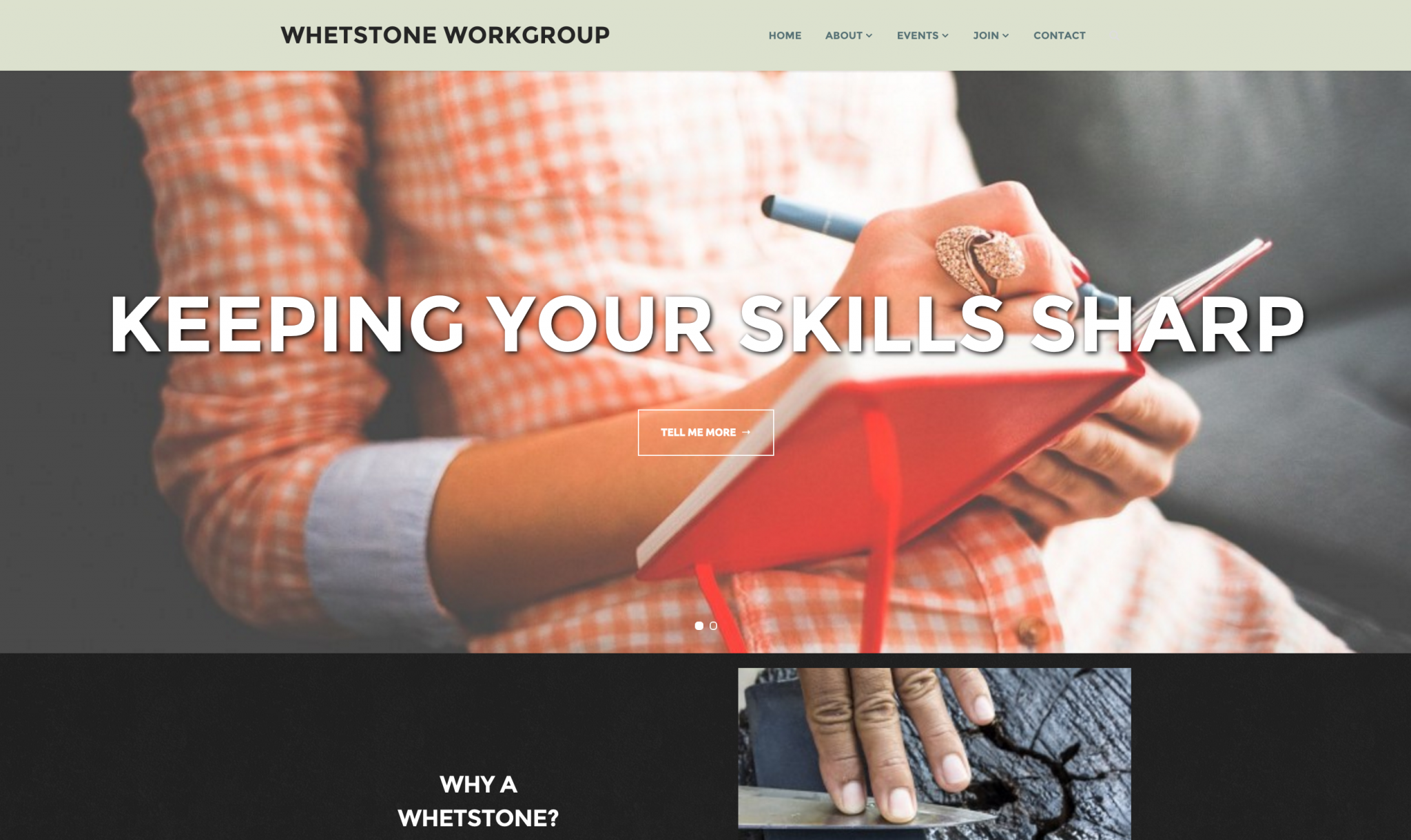 Whetstone WorkGroup – DIY Website