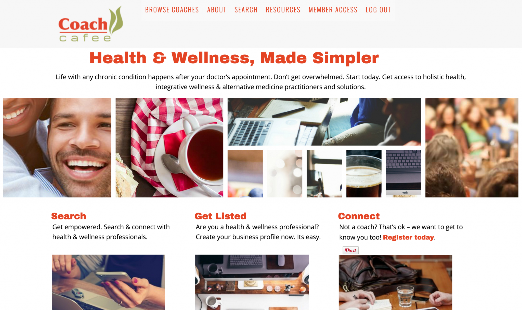 CoachCafee – Custom Paid Directory Site