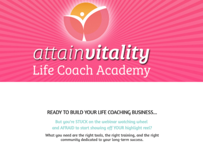 Attain Vitality – Online Course