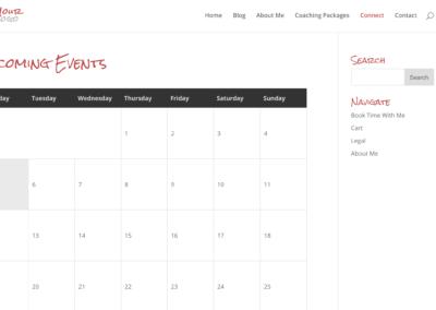 Style 12 - Events Calendar